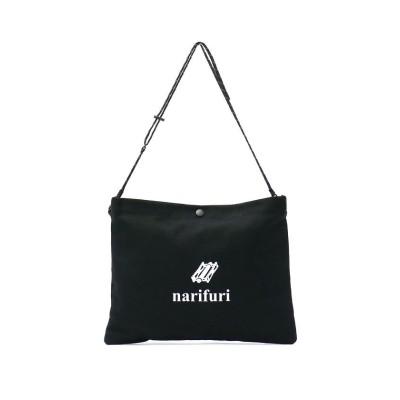 (narifuri/ナリフリ)ナリフリ サコッシュ narifuri スーベニアサコッシュ ショルダーバッグ NF8011/ユニセックス ブラック