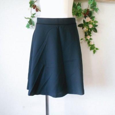 レッセパッセ LAISSE PASSE 春夏 向き バックスタイル の 可愛い スカート 黒 日本製 38