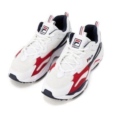 FILA フィラ RAY TRACER TOKYO F51220125 WHT/FNVY/FRED