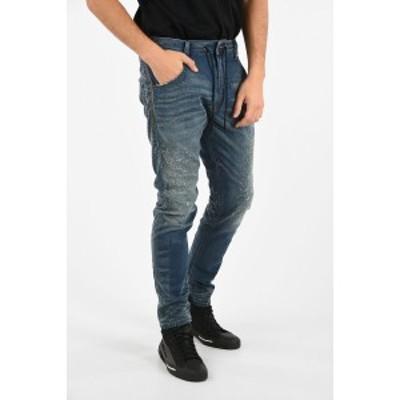 DIESEL/ディーゼル Blue メンズ 17cm Vintage Effect KROOLEY CB-NE Jogg Jeans dk