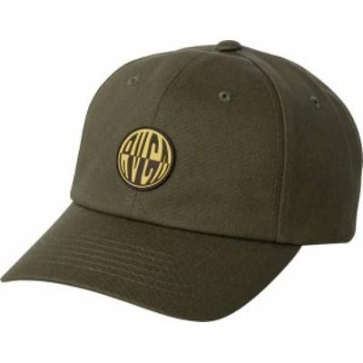 ルーカ メンズ 帽子 アクセサリー RVCA Men's Compound Adjustable Hat Aloe