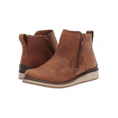 Keen キーン レディース 女性用 シューズ 靴 ブーツ アンクル ショートブーツ Bailey Ankle Zip - Cognac