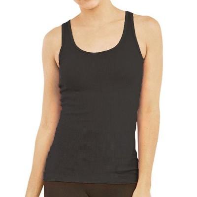 レディース 衣類 トップス LAVRA Women's 100% Cotton Ribbed Stretch Tank Top タンクトップ