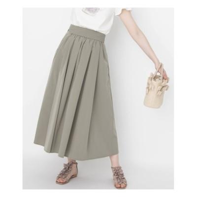 【クチュール ブローチ/Couture brooch】 タックリボンタイプライターフレアスカート