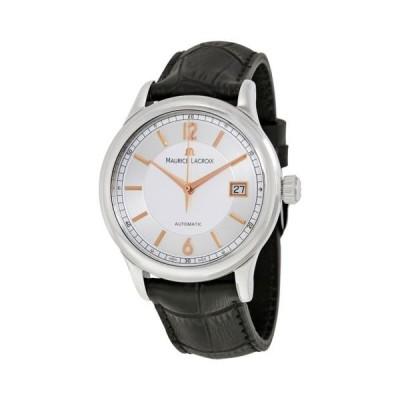 腕時計 モーリスラクロア Maurice Lacroix Les Classiques シルバー ダイヤル メンズ 腕時計 LC6027-SS001-121