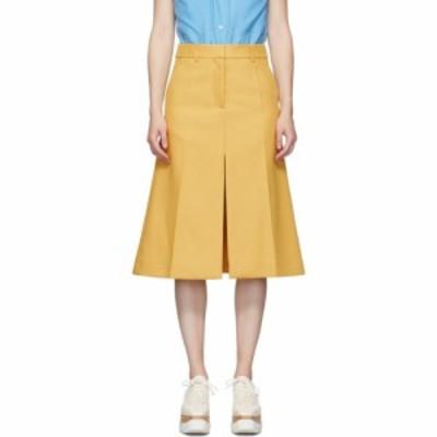 ステラ マッカートニー Stella McCartney レディース ひざ丈スカート スカート yellow alisha skirt Chamomile