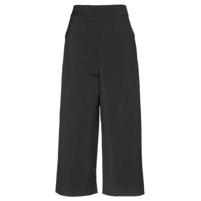 ティビ TIBI パンツ ブラック 4 56% アセテート 40% ナイロン 4% ポリウレタン パンツ