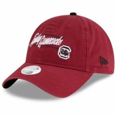 New Era ニュー エラ スポーツ用品  New Era South Carolina Gamecocks Womens Garnet Slogan 9TWENTY Adjustable Hat