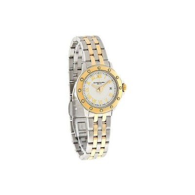 腕時計 レイモンドウイル Raymond Weil Tango レディース ホワイト ダイヤル Two トーン スイス クォーツ 腕時計 5399-STP-00308