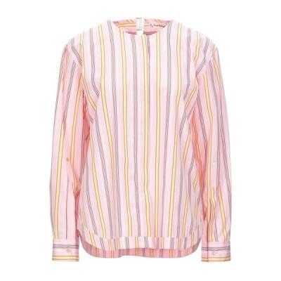 LE SARTE PETTEGOLE ストライプ柄シャツ  レディースファッション  トップス  シャツ、ブラウス  長袖 ピンク