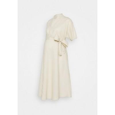 グラマラス ブルーム レディース ワンピース トップス BOW MIDI DRESS - Day dress - cream cream