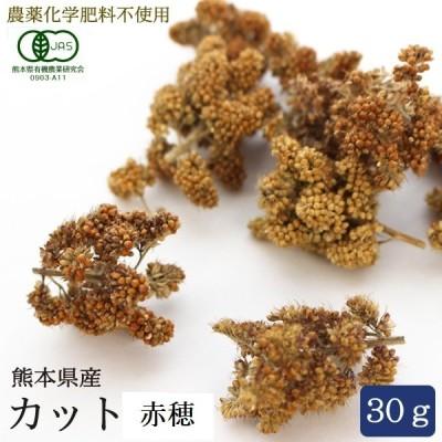 CAP! 鳥の餌 熊本県産 農薬/化学肥料不使用 カット赤粟穂 30g 2019年産
