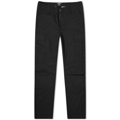 カーハート Carhartt WIP メンズ カーゴパンツ ボトムス・パンツ Regular Cargo Pant Black