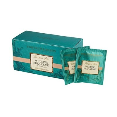 Fortnum & Mason British Tea、ウェディング朝食、25カウントTeabags (1パック)???SellerモデルID wbs
