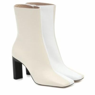 ワンダラー Wandler レディース ブーツ ショートブーツ シューズ・靴 Isa leather ankle boots Buttercream Mix