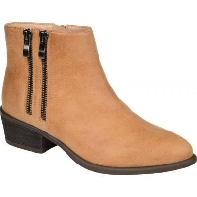 ジュルネ コレクション Journee Collection レディース ブーツ シューズ・靴 Jayda Bootie Tan