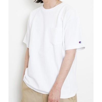tシャツ Tシャツ CHAMPION REVERSE WEAVE POCKET T-SHIRT C3-P318