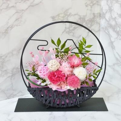 和風プリザーブドフラワー 富士山デザインフレーム 美月 フラワーギフト 花 プレゼント 贈り物 ギフト