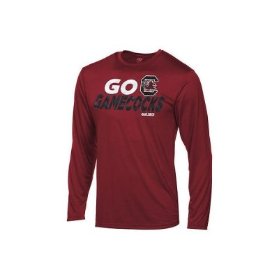 アウタースタッフ カレッジ スポーツ NCAA アメリカ USA 大学 South Carolina Gamecocks ユース Garnet DriTek 長袖 Game Time Tシャツ