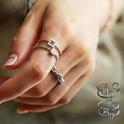 リング レディース アクセサリー 指輪 金属アレルギー パール おしゃれ プレゼント アンティカフェ