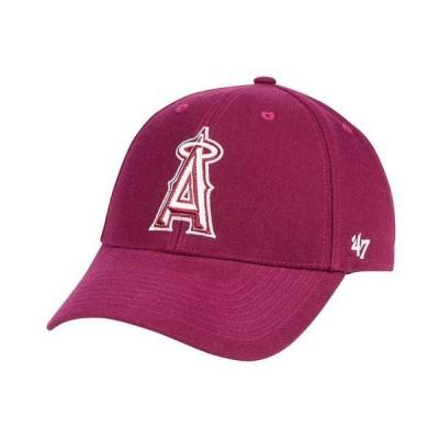47ブランド 帽子 アクセサリー メンズ Los Angeles Angels Cardinal MVP Cap Cardinal Red