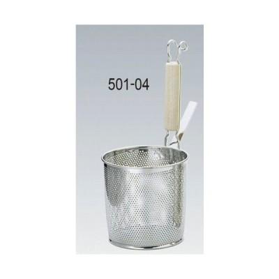 501-04 UK 18-8パンチング 木柄底平煮ざる S 41044340