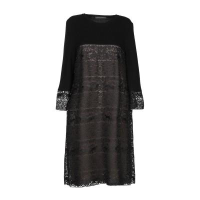 アルベルタ フェレッティ ALBERTA FERRETTI ミニワンピース&ドレス 鉛色 38 ポリエステル 100% / バージンウール ミニワン