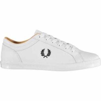 フレッドペリー Fred Perry メンズ スニーカー シューズ・靴 Baseline Trainers White