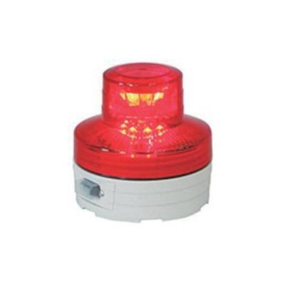 日動 電池式LED回転灯ニコUFO 夜間自動点灯タイプ 赤 NU-BR