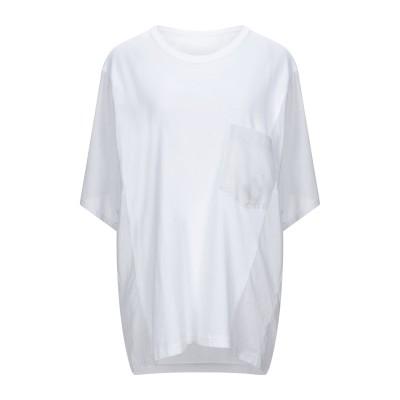Y'S YOHJI YAMAMOTO T シャツ ホワイト 2 コットン 100% T シャツ