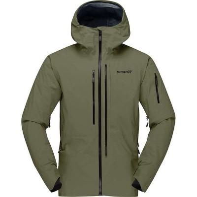 ノローナ ジャケット&ブルゾン メンズ アウター Norrona Men's Lofoten GTX Pro Jacket Olive Night