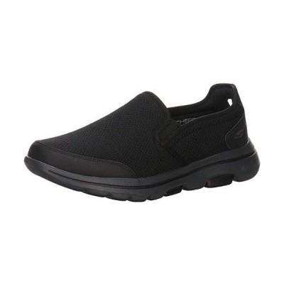 Skechers メンズ Gowalk 5 - Delco スリッポンスニーカー US サイズ: 9 X-Wide カラー: ブラック 並行輸入品