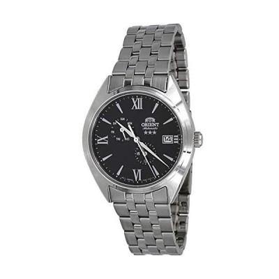 海外限定 Orient RA-AK0504B Men's Tri Star Altair Stainless Steel Multifunction Black Dial Automatic Watch