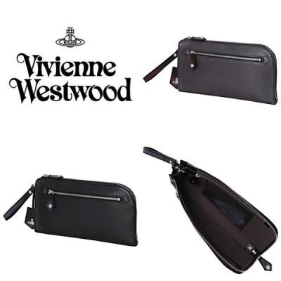 ヴィヴィアンウエストウッド Vivienne Westwood バッグ クラッチバッグ バッグインバッグ ADVAN ブラック ネイビー メンズ 取り寄せ