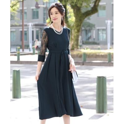 【ブルーイースト】 インパーテッドAラインドレス レディース グリーン M(01) BLUEEAST