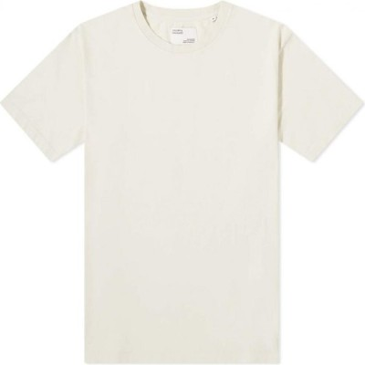 カラフルスタンダード Colorful Standard メンズ Tシャツ トップス Classic Organic Tee Ivory White