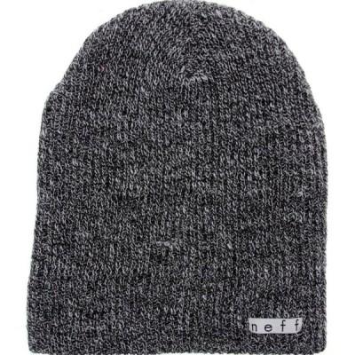 ネフ Neff メンズ ニット ビーニー 帽子 Daily Heather Beanie black/grey