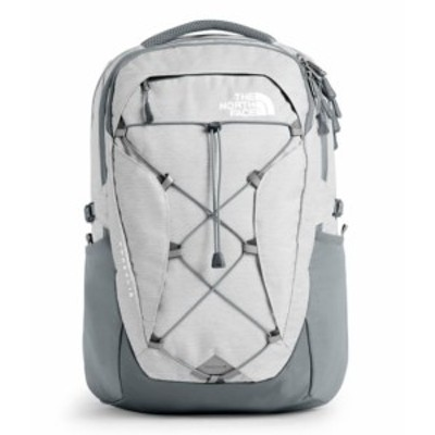 ノースフェイス レディース The North Face BOREALIS BACKPACK バックパック TNF WHITE METALLIC MELANGE/MID GREY