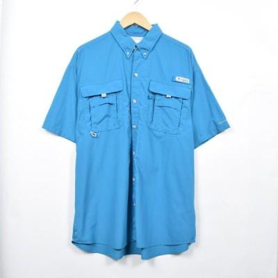 コロンビア 半袖 フィッシングシャツ メンズXXL /eaa030975