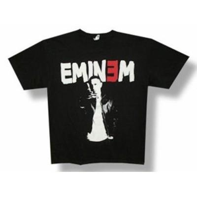 ファッション トップス Eminem-Threshold-2011 Tour Black T-shirt