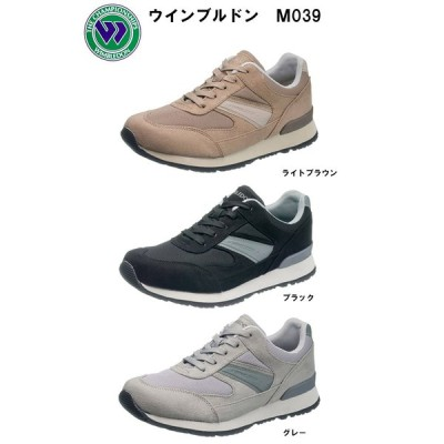 WIMBLEDON ウインブルドン M039 メンズ レーススニーカー 4E M039 ウィンブルドン 紐靴