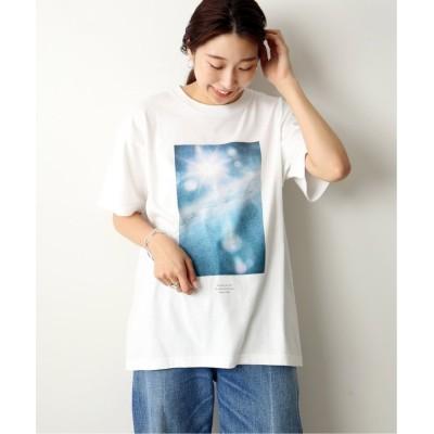【ジャーナルスタンダード】 TOKI*LESSAGE PHOTO-T◆ レディース ホワイト フリー JOURNAL STANDARD