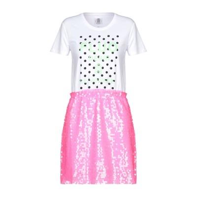 LE VOLIÈRE ミニワンピース&ドレス ホワイト S コットン 60% / ポリエステル 40% ミニワンピース&ドレス