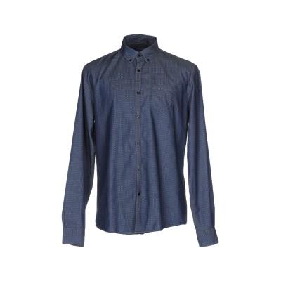ウールリッチ WOOLRICH デニムシャツ ブルー M コットン 100% デニムシャツ