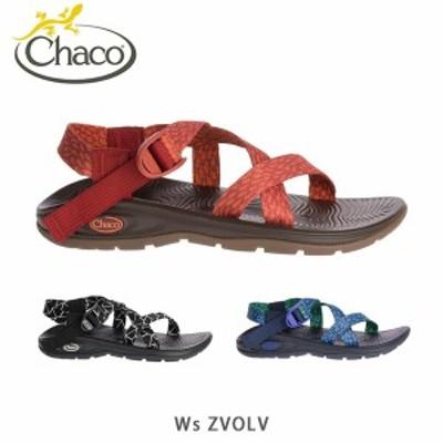 送料無料 チャコ Chaco レディース サンダル Z/VOLV Zヴォルブ WS 女性 ウィメンズ 靴 オープントゥ ストラップサンダル スポーツサンダ