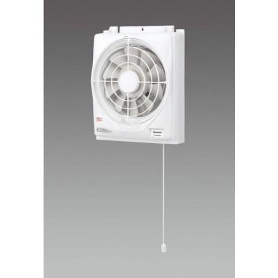 エスコ 窓用換気扇 AC100V/φ20cm(羽根径) EA897EL-20 1個