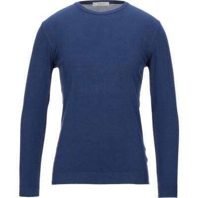 ウールアンドコー WOOL & CO メンズ ニット・セーター トップス sweater Dark blue