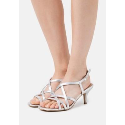 エスオリバー サンダル レディース シューズ Sandals - silver