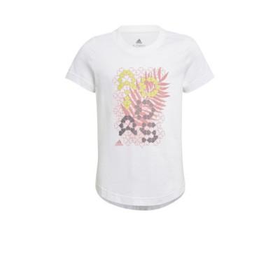 アディダス(adidas)ガールズ トロピカル スポーツ グラフィックTシャツ JKW57-GJ6498 半袖
