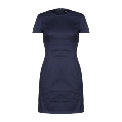 ディースクエアード DSQUARED2 ミニワンピース&ドレス ダークブルー 40 コットン 97% / ポリウレタン 3% ミニワンピース&ドレス